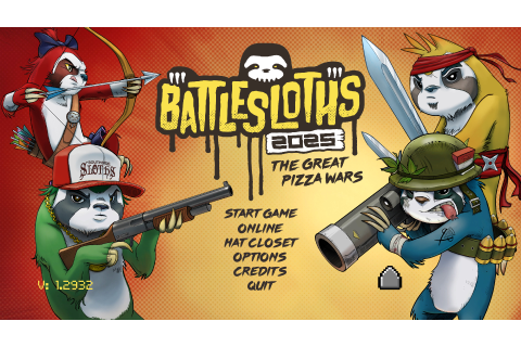 Battlesloths 2025: The Great Pizza Wars - Download Free ...