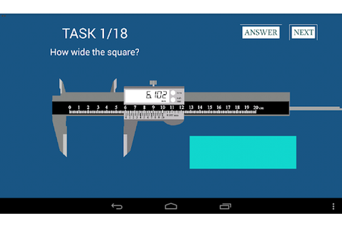 Caliper Digital APK 1.1.8 - Free Simulation Apps for Android