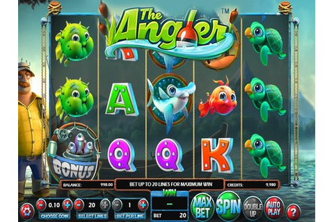 The Angler : Slot Machine Free Play