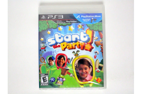Start the Party game for Playstation 3 (New) | The Game Guy
