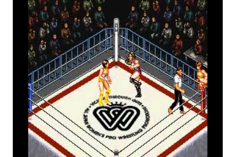 Super Fire ProWrestling Queens Special (SUPER_NINTENDO ...