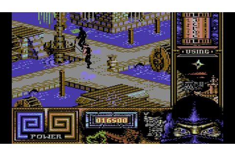 Last Ninja 3 Longplay (C64) [50 FPS] - YouTube