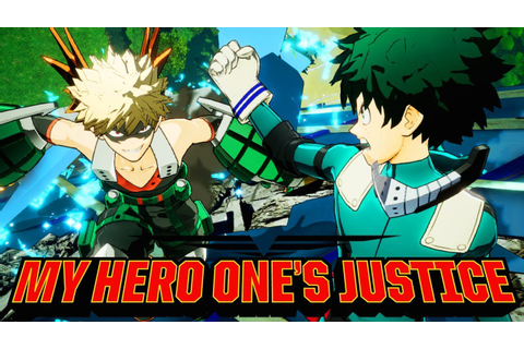My Hero One's Justice Gameplay - My Hero Academia Game ...