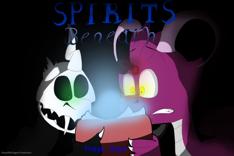 Spirits Beneath Game Cover by ZozanTheDragon on DeviantArt