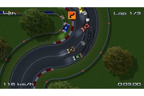 Rush Rush Rally Racing (WiiWare) Screenshots