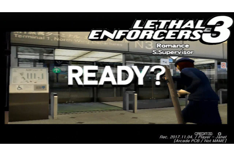 Lethal Enforcers 3 - Full game playthrough (Not MAME) / セイ ...