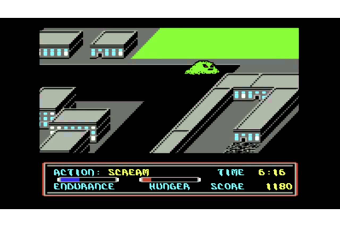 C64-Longplay - Movie Monster Game (720p) - YouTube