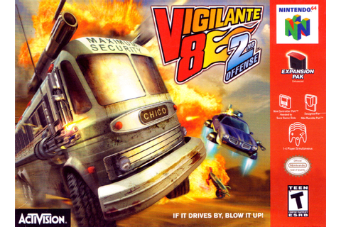 Vigilante 8: 2nd Offense Nintendo 64 Game