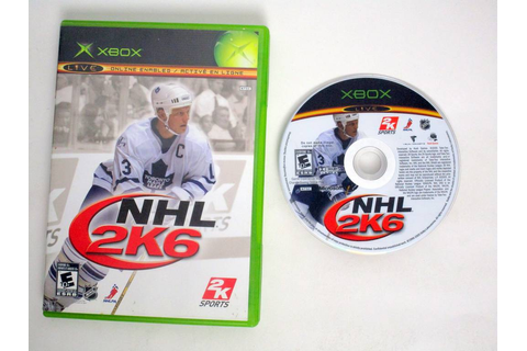NHL 2K6 game for Microsoft Xbox | The Game Guy