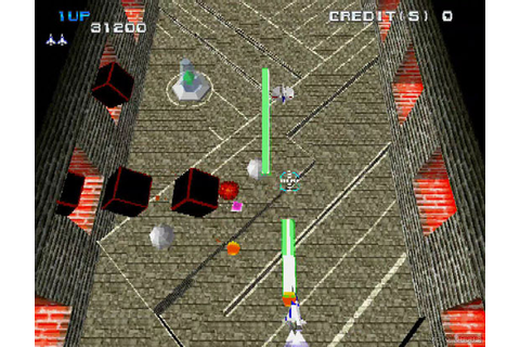 Xevious 3D/G Plus Review | PS1 PS3 PSVita PSP | Video Chums