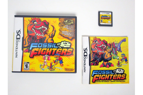 Fossil Fighters game for Nintendo DS -Complete 45496740412 ...