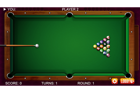 8 Ball Pool Billiards - HTML5 Sports Game by dexterfly ...