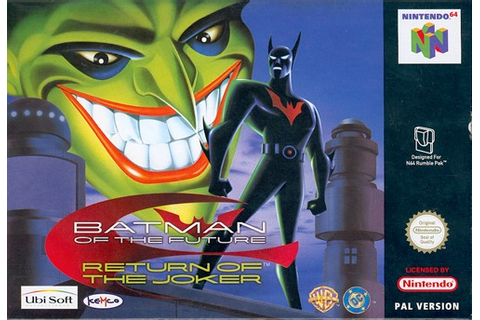 Batman of the Future - Return of the Joker (Europe) (En,Fr ...