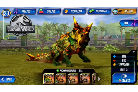 Jurassic World: The Game (Mobile Game) Trailer | Jurassic ...