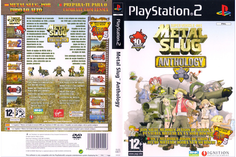 Download Game Metal Slug - Anthology PS2 Full Version Iso ...
