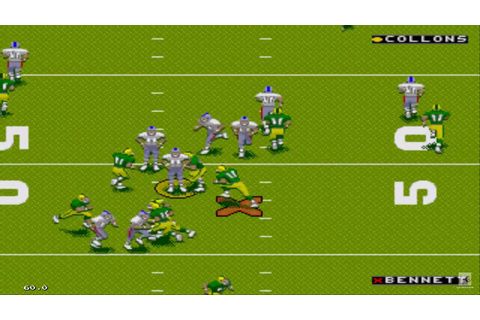 NFL 98 Sega Genesis Gameplay HD - YouTube
