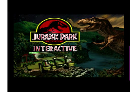 Jurassic Park Interactive - Panasonic 3DO - 1993 - YouTube