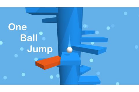 One Ball Jump - Jumping Ball Game Play - YouTube