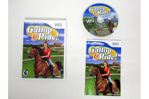 Gallop and Ride game for Nintendo Wii | The Game Guy