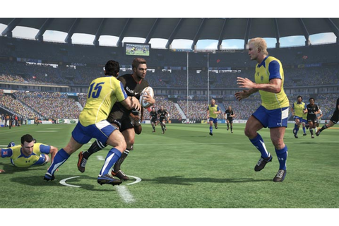 Jonah Lomu Rugby Challenge Software for Xbox 360 ...