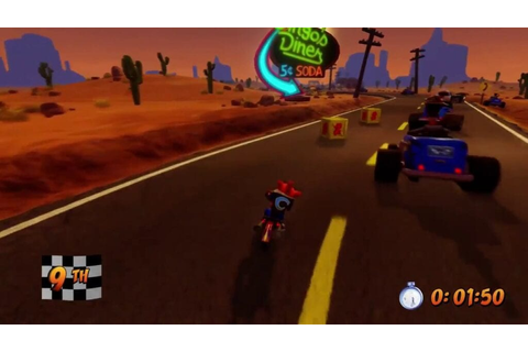 New Video Shows Remastered Crash Bandicoot 3 Motorcycle ...
