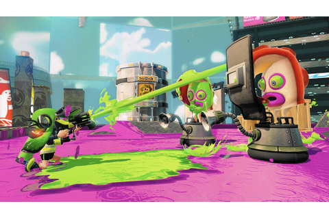 Splat goes Nintendo all over the shooter with 'Splatoon ...