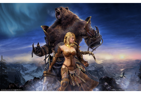 fantasy Art, Digital Art, Bears, Video Games, Guild Wars ...