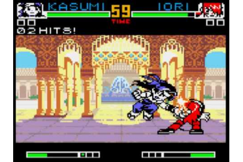 King of Fighters R-2 Game Sample - NeoGeo Pocket Color ...