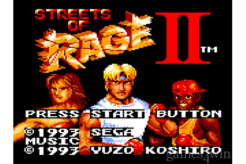 Streets of Rage 2 Free Download full game for PC, review ...