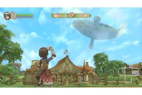 Fishy happenings in Rune Factory: Frontier (Wii) | Very ...