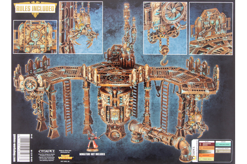 Warhammer 40,000 Sector Mechanicus: Promethium Forge ...