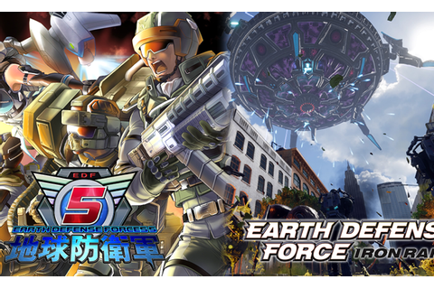 Earth Defense Force 5 and Earth Defense Force: Iron Rain ...