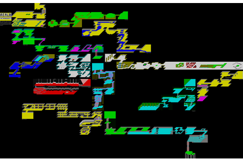 ZX-Spectrum Games - Realm of Impossibility - mapa