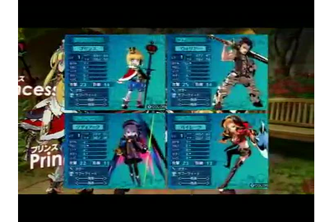 Gameplay Etrian Odyssey III : The Drowned City ...
