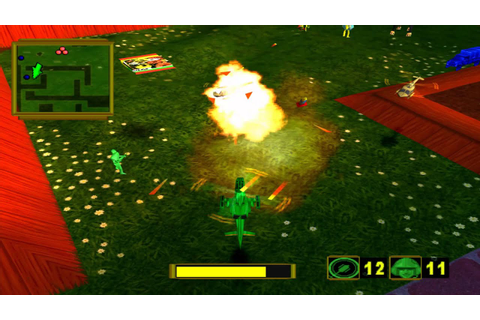 PS1 Army Men Air attack 2 Gameplay Trailer HD - YouTube