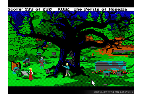 King's Quest IV: The Perils of Rosella Screenshots - Video ...