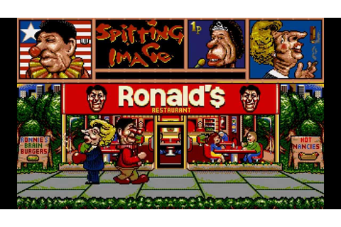 Amiga Longplay: Spitting Image - YouTube