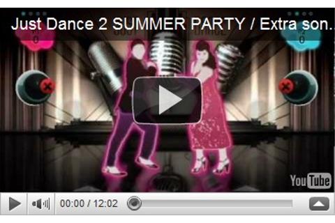 Just Dance Summer Party Wii Game Free Full Download (High ...