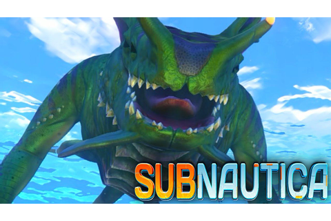 Subnautica - SEA DRAGON, LEVIATHAN, NEW CREATURES ...