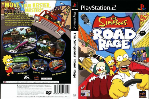The Simpsons Road Rage for PS2 CHEAP Game AU PAL | eBay