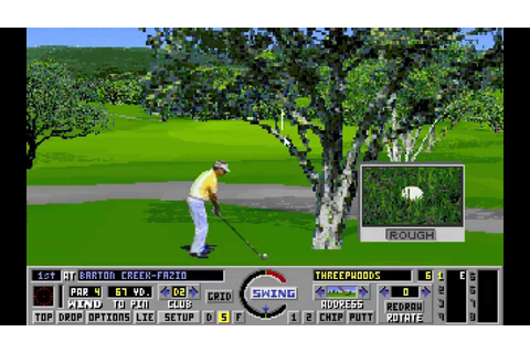 Links: The Challenge of Golf (PC/DOS) +Addon Courses Demo ...