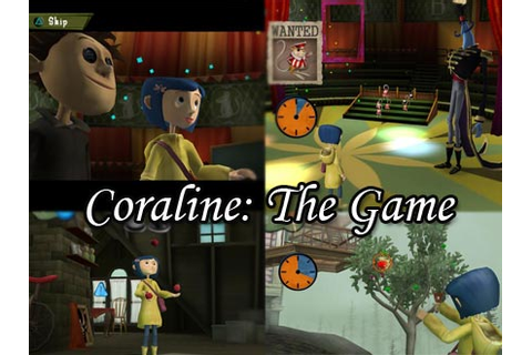 Coraline Video Game Voice Talent Revealed by D3Publisher ...