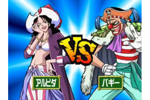 Games PS1 One Piece Grand Battle 2 Alvida vs Buggy - YouTube
