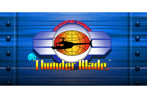 3D Thunder Blade | Nintendo 3DS download software | Games ...