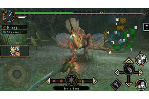 Monster hunter freedom unite iPhone game - free. Download ...