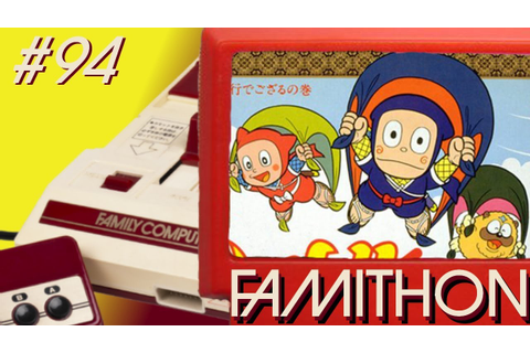Ninja Hattori-Kun (Famicom) REVIEW - FamiThon #94 - YouTube