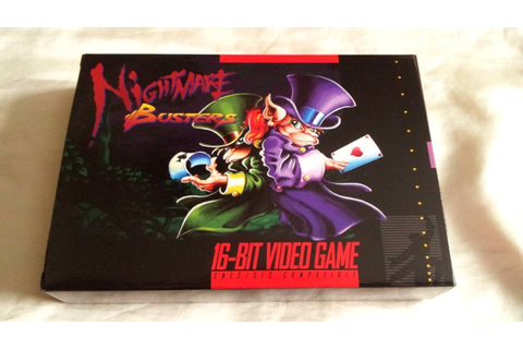 Nightmare Busters Review for the Super NES - YouTube