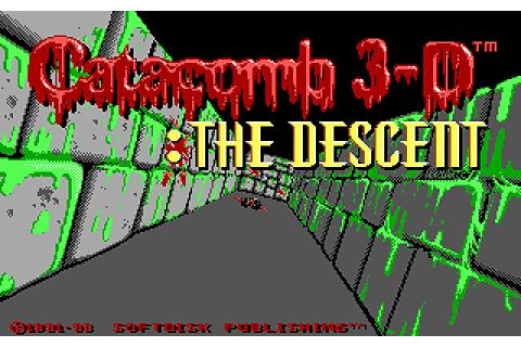Catacomb 3D: The Descent download PC