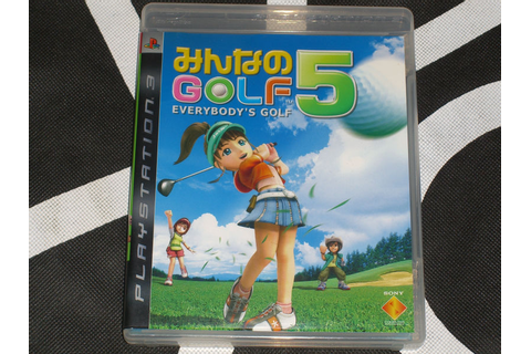 Sony Playstation 3 PS3 Import Game Everybody's Golf 5 ...