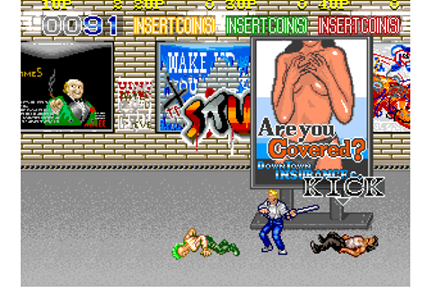 Play Arcade Crime Fighters (US 4 players) Online in your ...